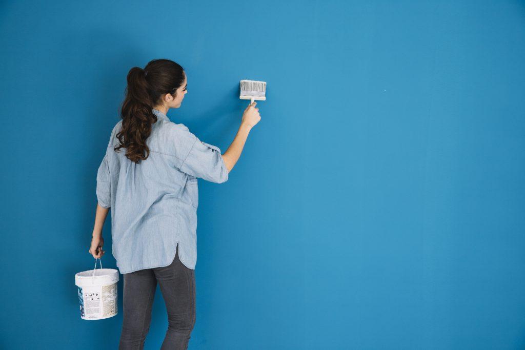 técnicas para pintar paredes como un profesional